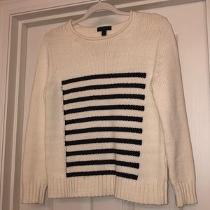 NWOT J Crew striped sweater